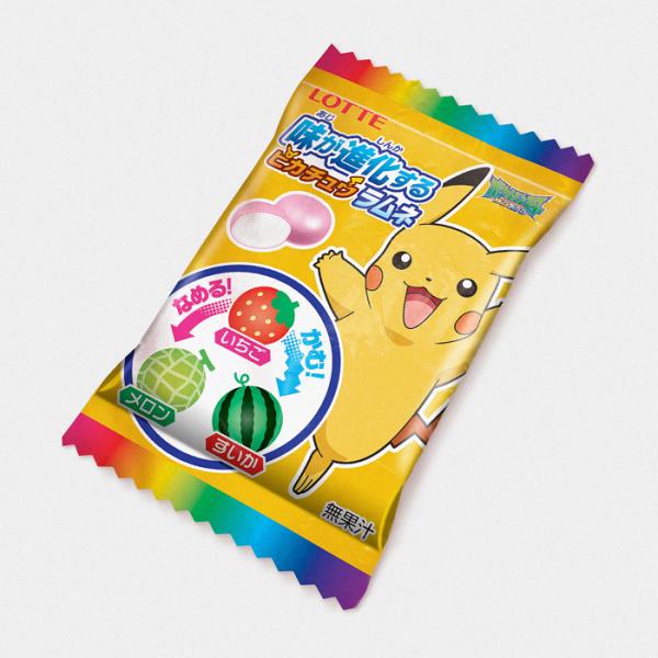 Pokémon Pikachu Evolving Taste Changing Candy