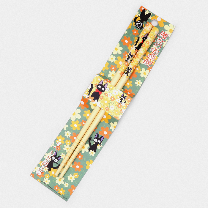 Studio Ghibli Chopsticks - Jiji Flowers