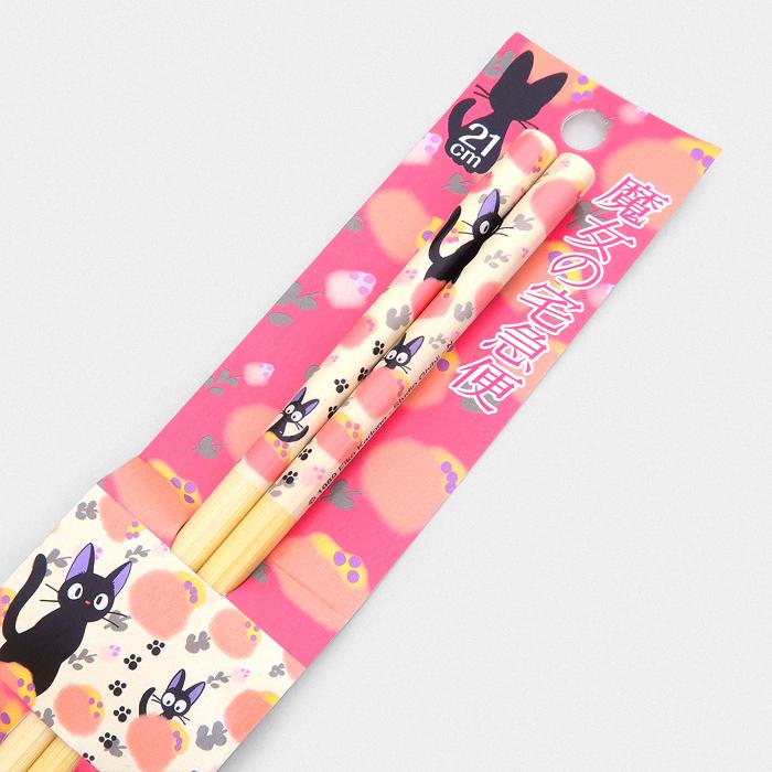 Studio Ghibli Chopsticks - Jiji Pink