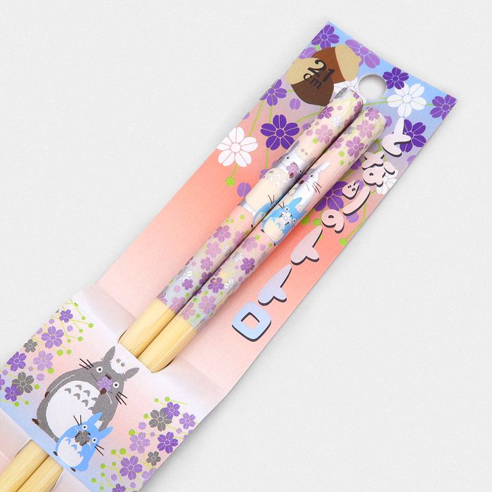 Studio Ghibli Chopsticks - Totoro Flowers