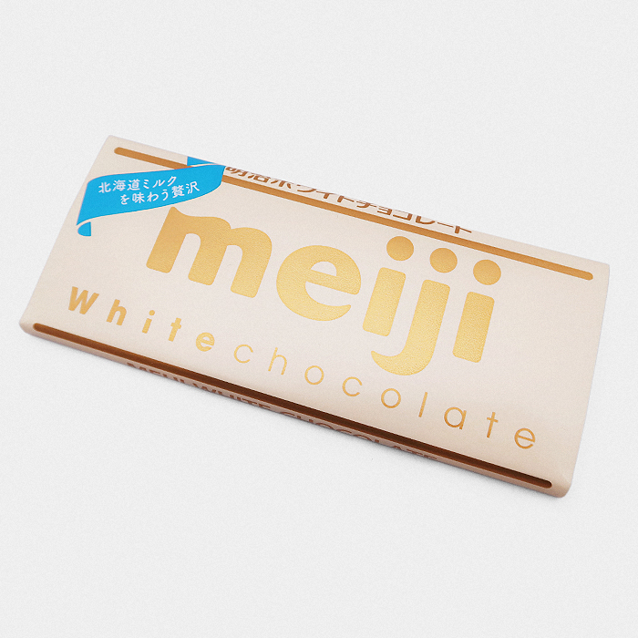 Meiji White Chocolate Bar