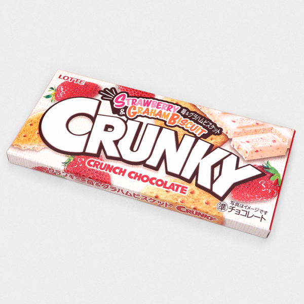 Strawberry & Graham Biscuit Crunky