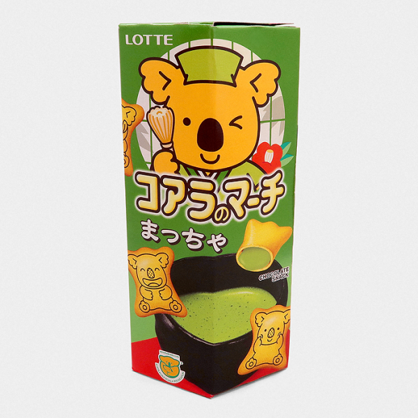 Lotte Koala's March Biscuits - Matcha Green Tea