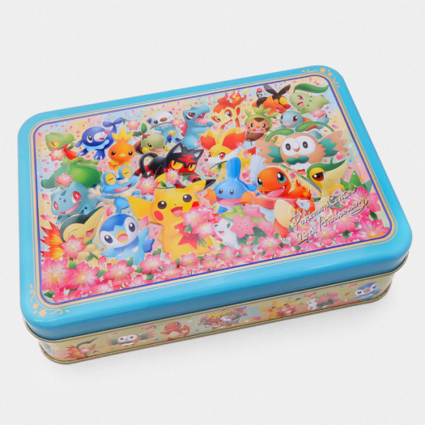 Pokémon Center 20th Anniversary Cookie Tin