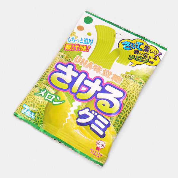 UHA Sakeru Gummy Candy - Melon