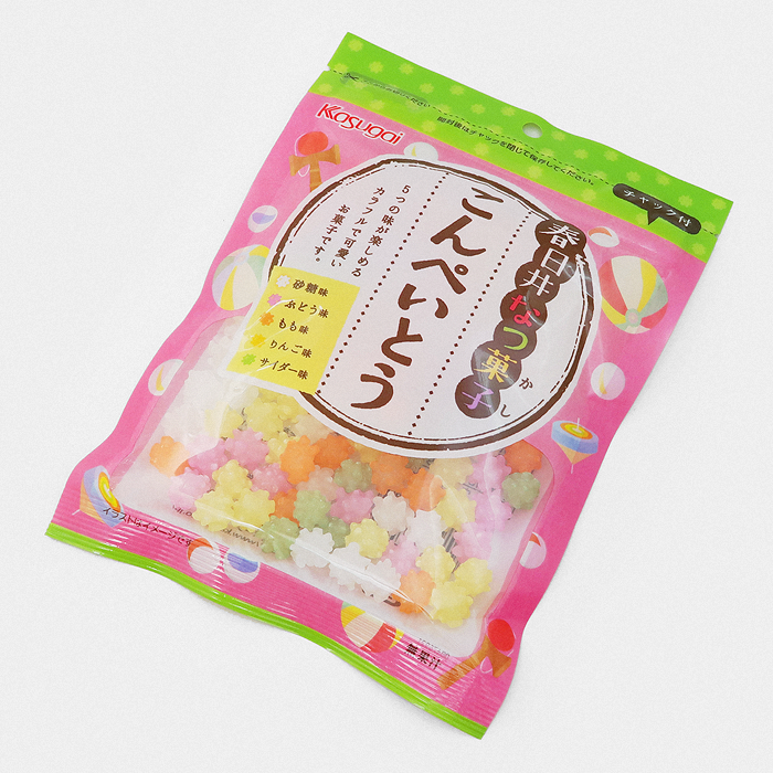 Kasugai Konpeito Colourful Sugar Candy