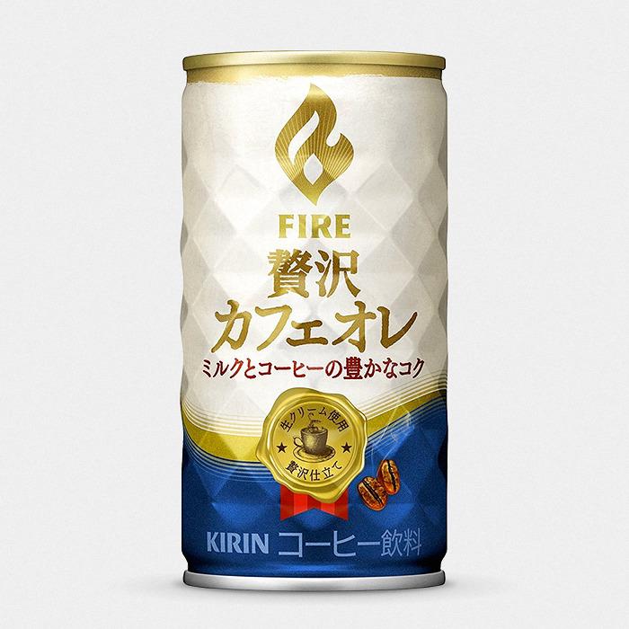 Kirin FIRE Luxury Café Latte Japanese Canned Coffee