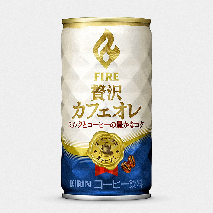 Kirin FIRE Luxury Café Latte Japanese Canned Coffee