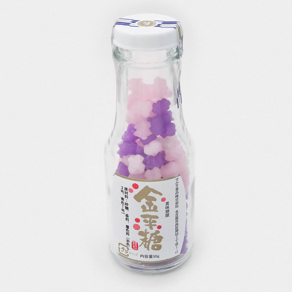 Konpeito Japanese Sugar Candy Bottle - Rabenda