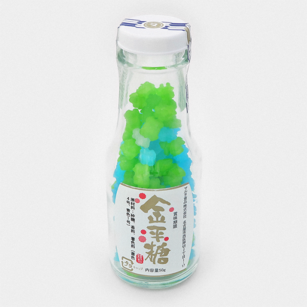 Konpeito Japanese Sugar Candy Bottle - Mizudori