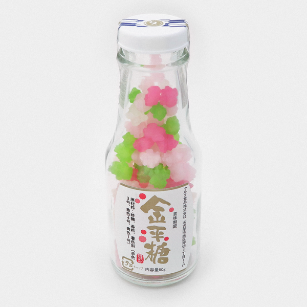 Konpeito Japanese Sugar Candy Bottle - Sango