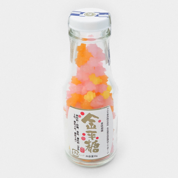 Konpeito Japanese Sugar Candy Bottle - Kouji