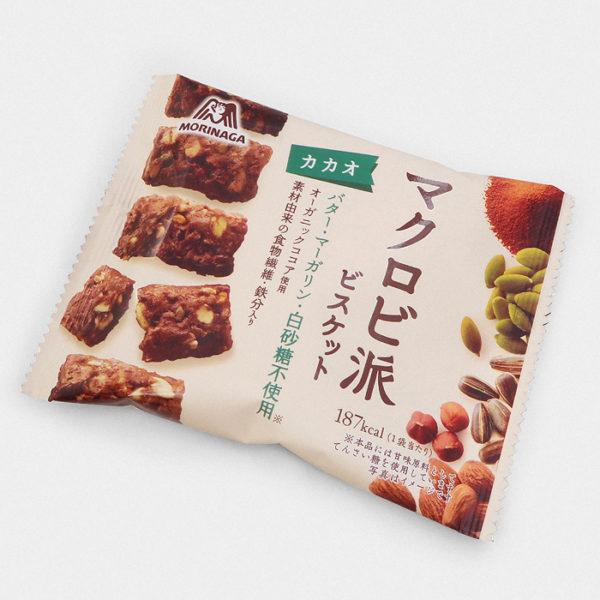 Morinaga Macrobi Cookies - Chocolate