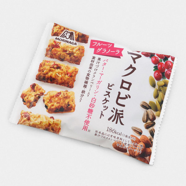 Morinaga Macrobi Cookies - Fruit Granola