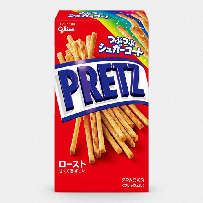 Glico Sweet Roasted Pretz