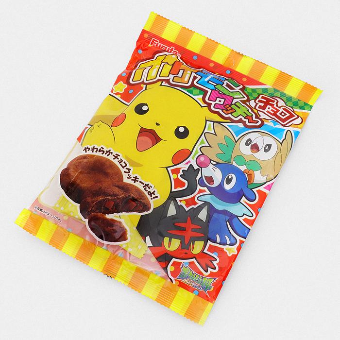 Pokémon Chocolate Chip Cookies - Something Japanese