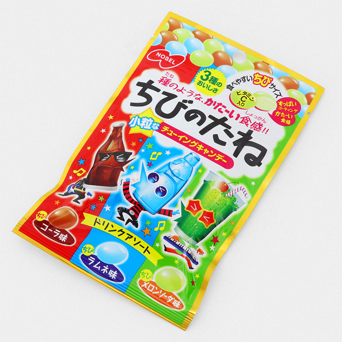 Chibi Soda Assortment Hard Candy - Something Japanese