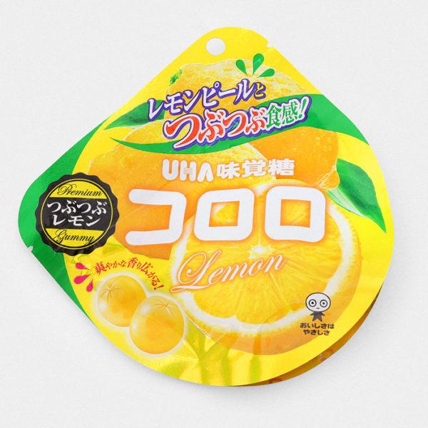 UHA Cororo Gummy Candy - Lemon - Something Japanese