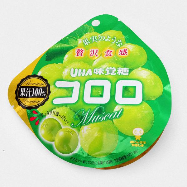 UHA Cororo Gummy Candy - Muscat White Grape - Something Japanese
