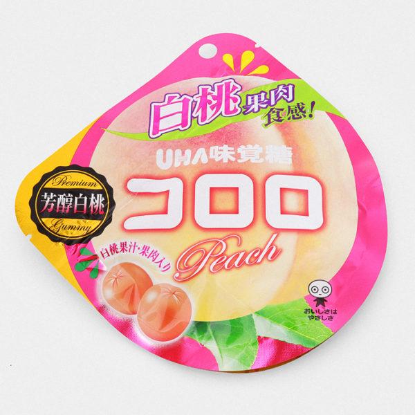 UHA Cororo Gummy Candy - Peach - Something Japanese
