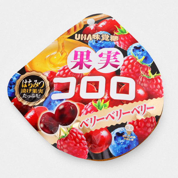 UHA Cororo Gummy Candy - Berry Berry Berry - Something Japanese