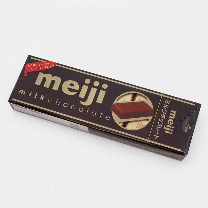 Meiji Milk Chocolate Stick - Something Japanese