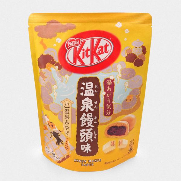 Onsen Manju Kit Kat
