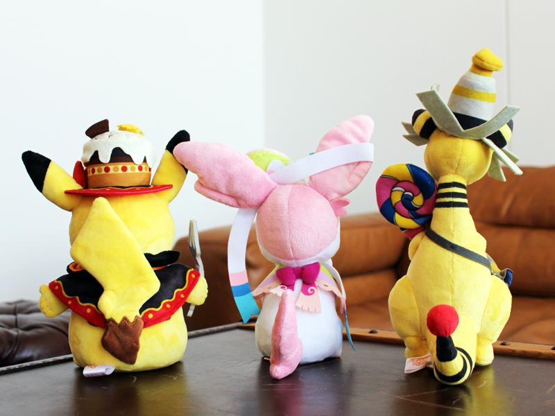 Team Treat Halloween 2018 Pokémon Center plushies