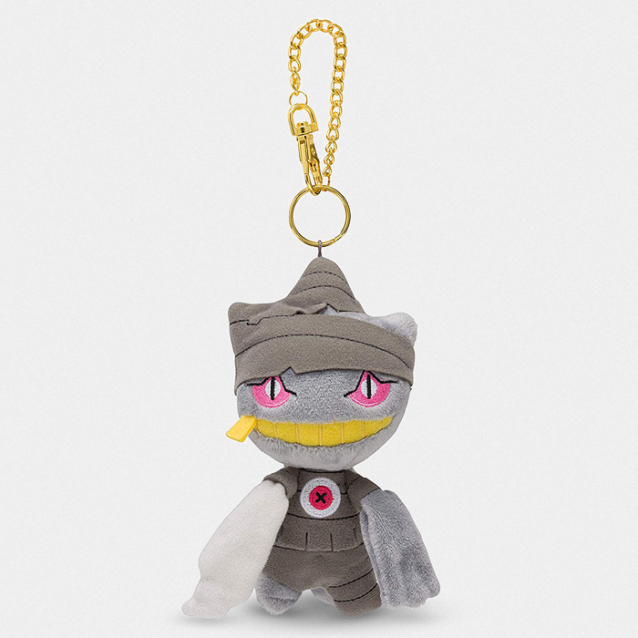 Pokémon Halloween Trick or Treat Banette Keychain Plush