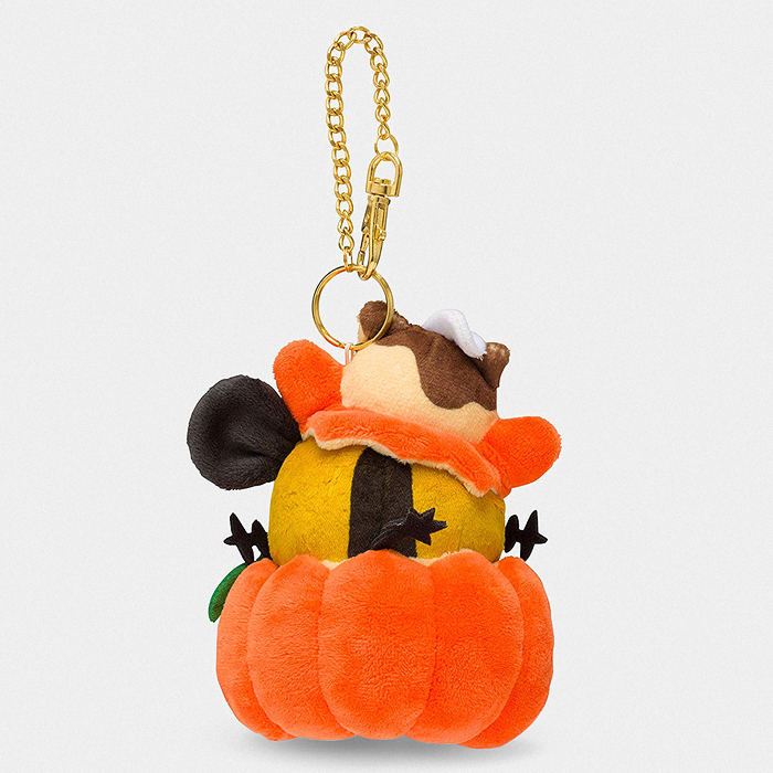 Pokémon Halloween Trick or Treat Dedenne Keychain Plush