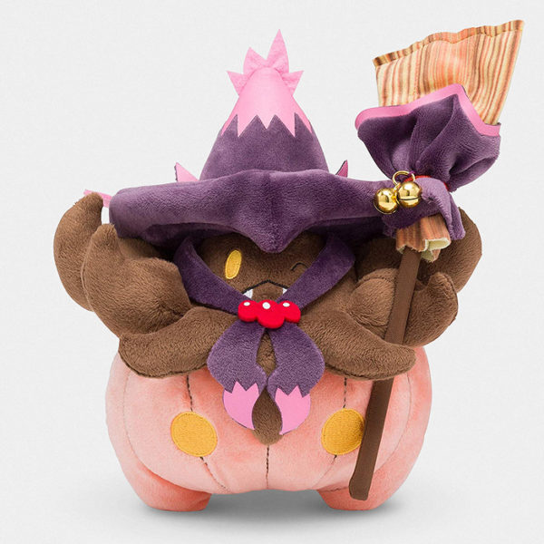 Pokémon Halloween Trick or Treat Pumpkaboo Plush