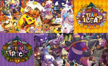 Team Trick and Team Treat Halloween 2018 Pokémon Center Merchandise