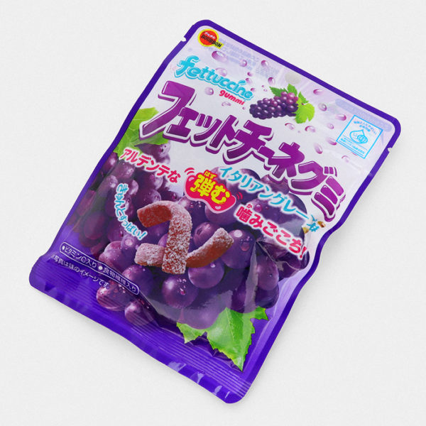 Fettuccine Red Grape Gummy Candy - Something Japanese