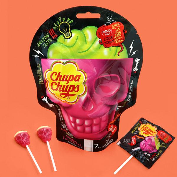 Chupa Chups Halloween Skull Lollipops