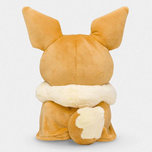 Pokémon Pikachu With Eevee Poncho Plush