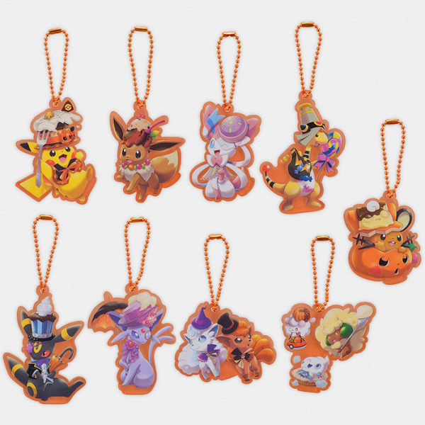 Pokémon Halloween Team Treat Acrylic Charms
