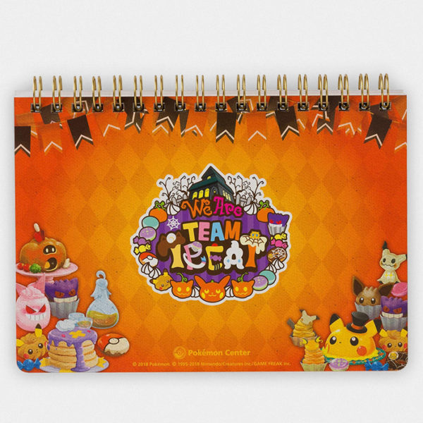 Pokémon Halloween Team Treat Notebook