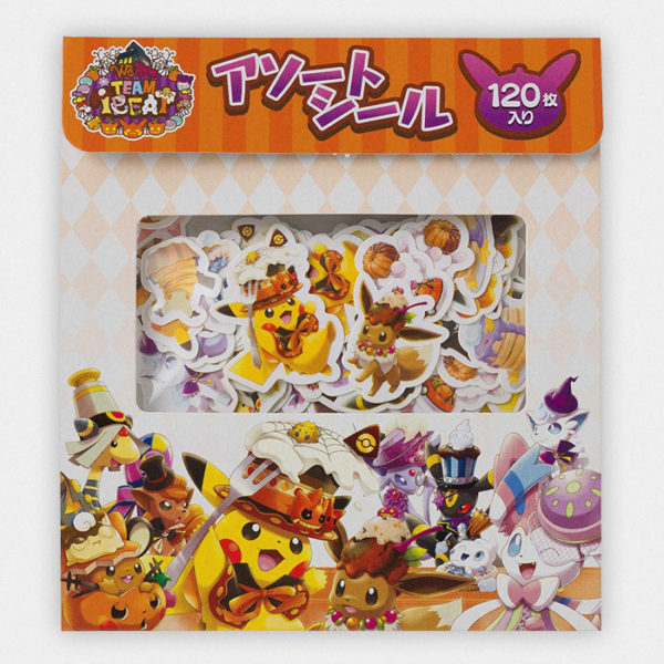 Pokémon Halloween Team Treat Sticker Set