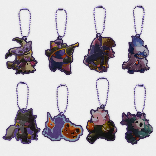 Pokémon Halloween Team Trick Metal Charms