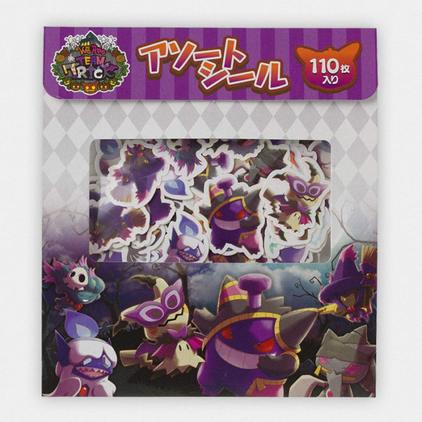 Pokémon Halloween Team Trick Sticker set