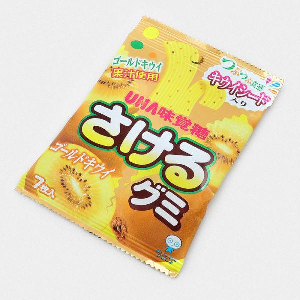 UHA Sakeru Gummy Candy - Kiwi