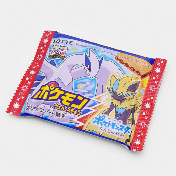 Pokémon Bikkuriman Wafer Cookie - Pokémon Movie: The Power of Us