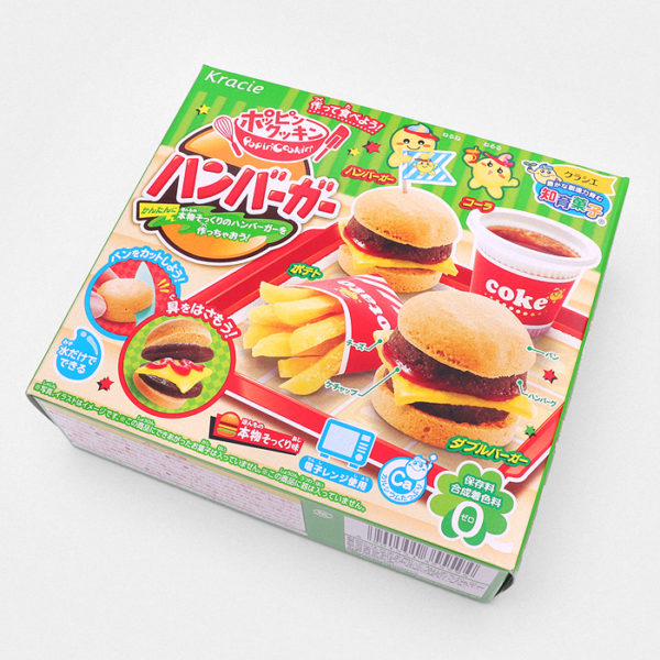 Popin' Cookin' DIY Candy Burgers & Fries