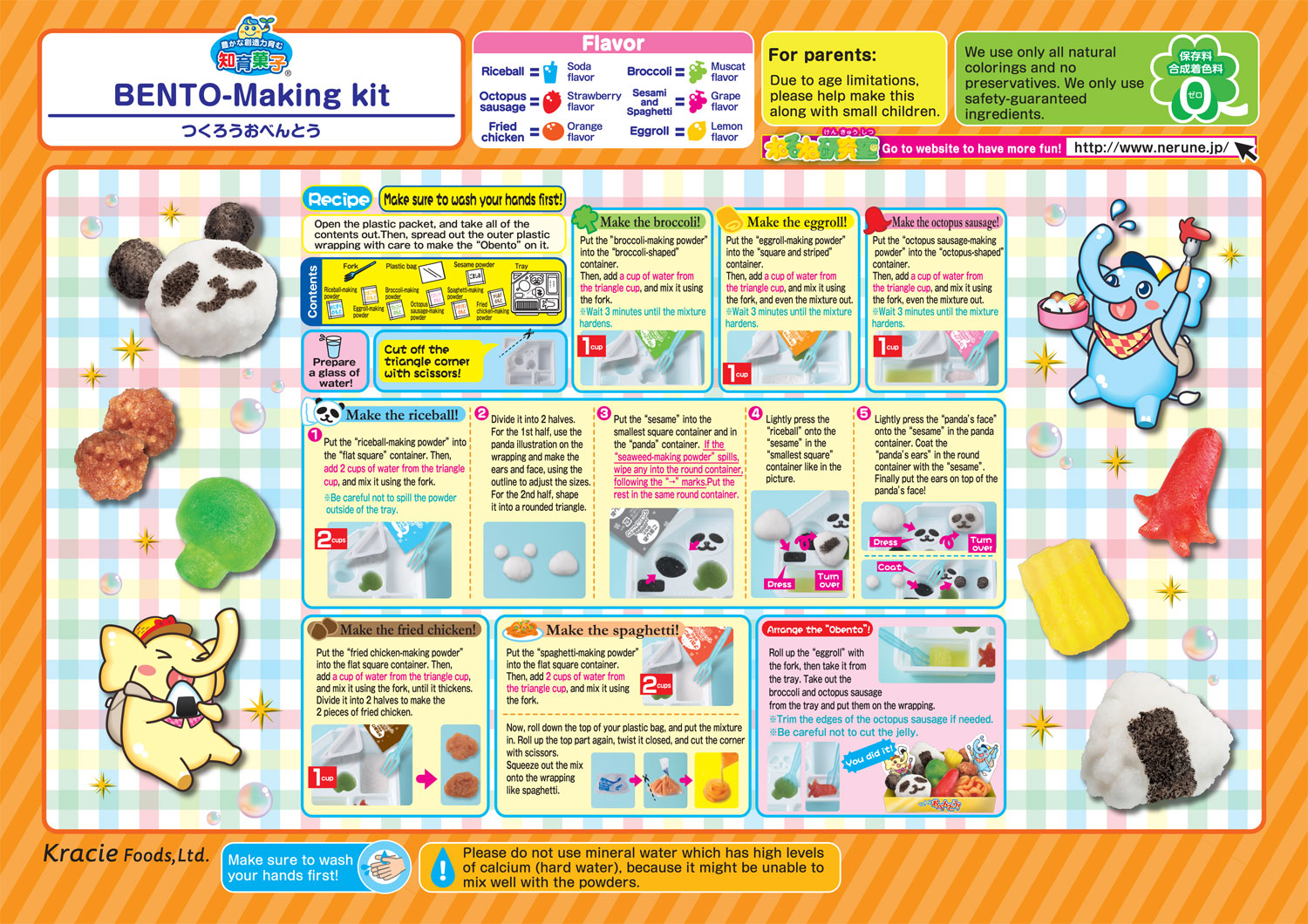 Popin' Cookin' DIY Candy Bento Box How to
