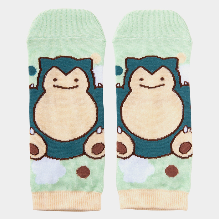 Ditto Snorlax Socks