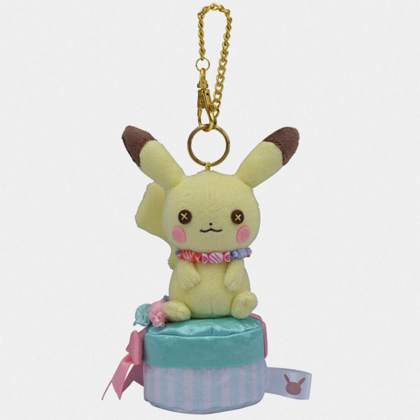Fluffy Little Pokémon Male Pikachu Bag Charm