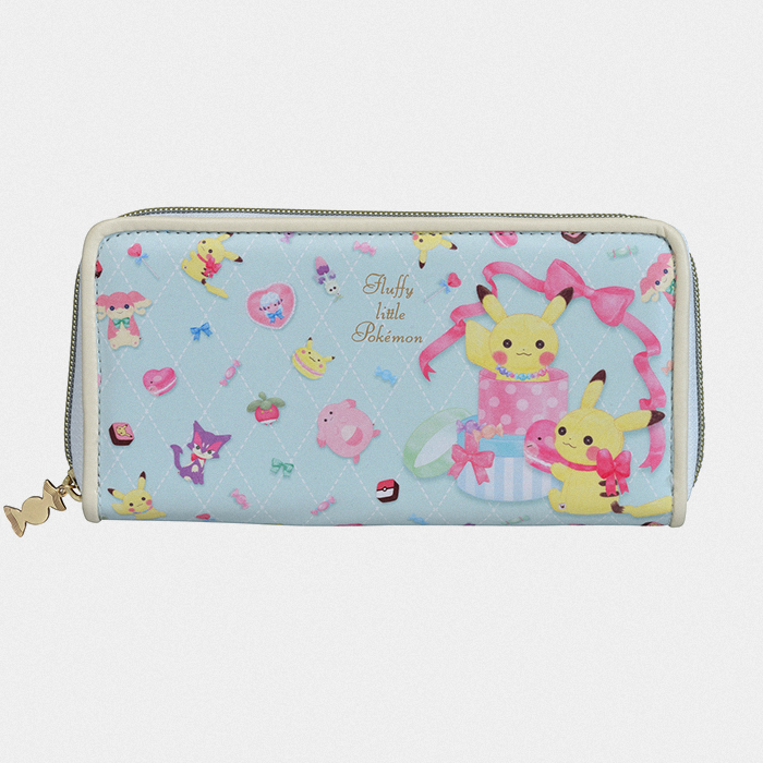 Fluffy Little Pokémon Long Wallet