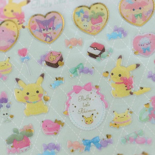 Fluffy Little Pokémon Sticker Set