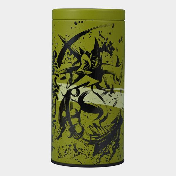 Pokémon Center Sumi-e Greninja & Sceptile Green Tea Tin