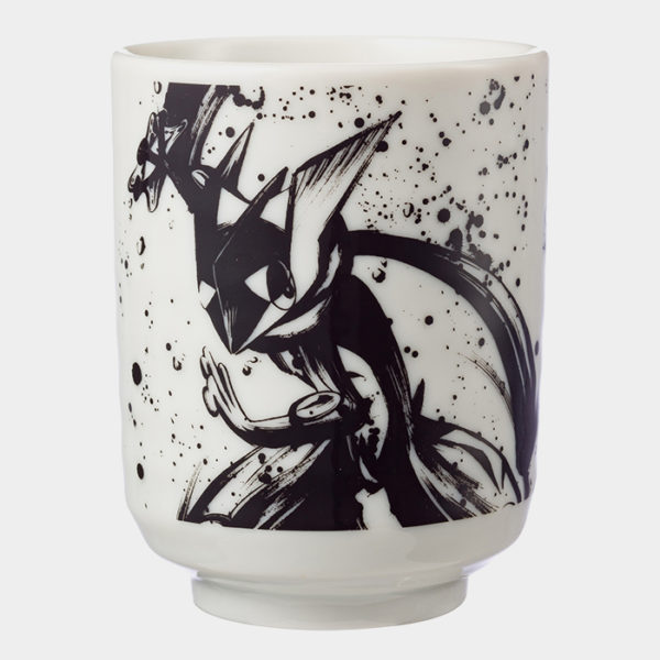 Pokémon Center Sumi-e Greninja & Sceptile Tea Cup